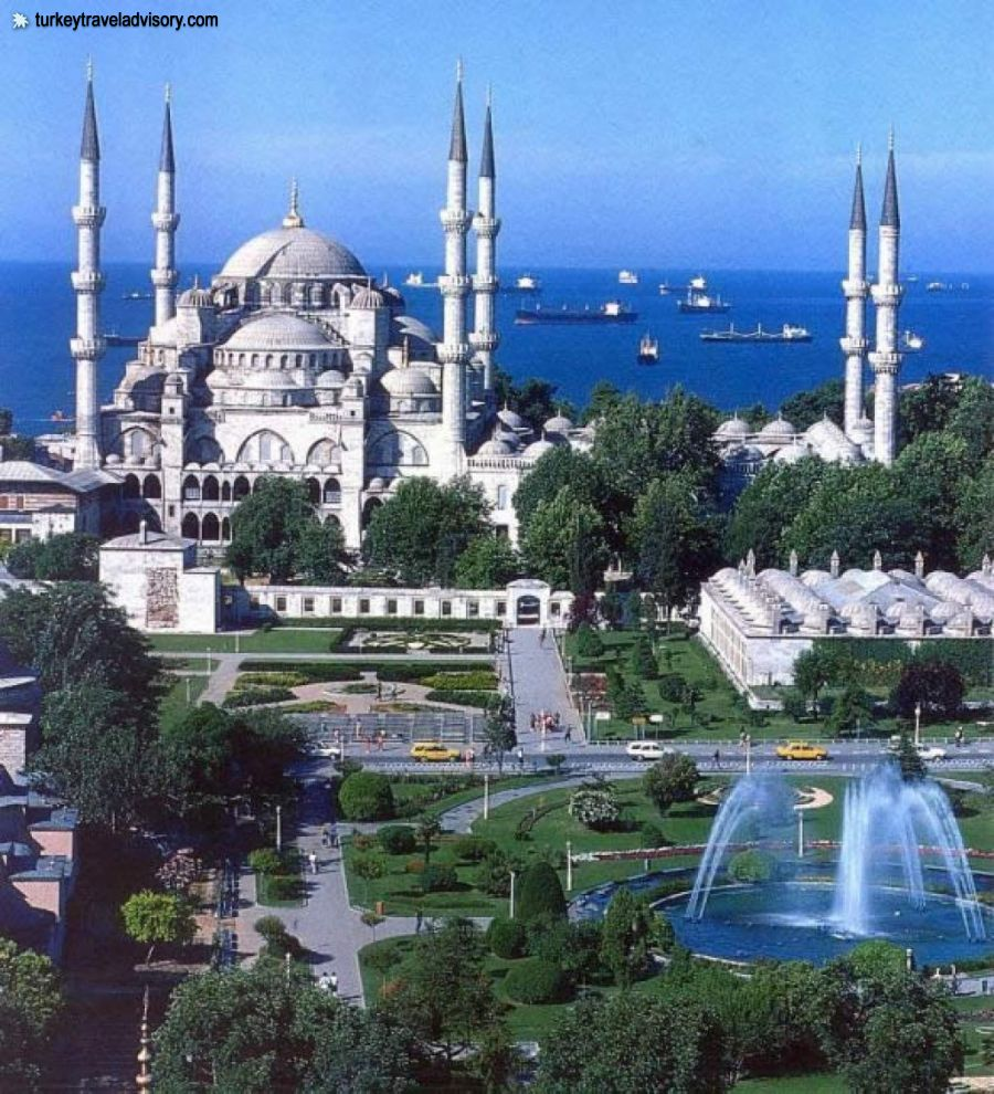 Stanbul blue mosque turkey travel pictures for Blue istanbul hotel taksim