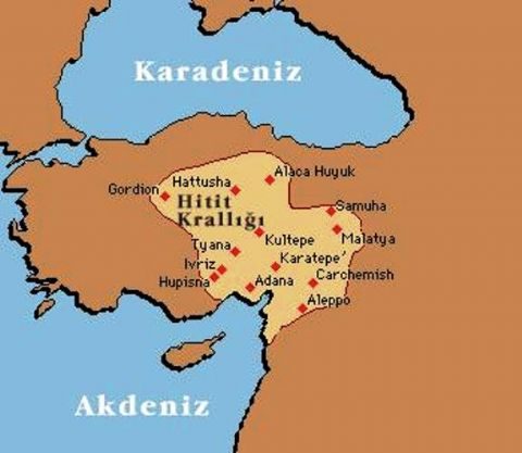 Hitits maps, Ankara Map, Gordion Map, Turkey Archeological map